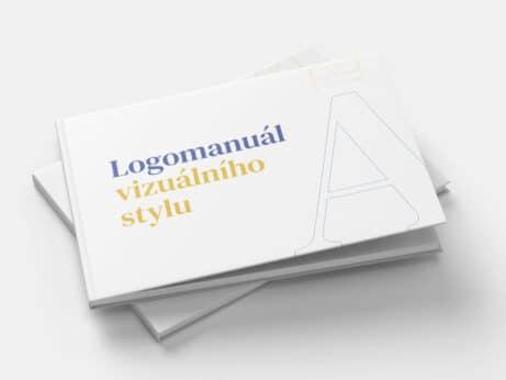 Tvorba loga a vizuální identity Adel events logomanuál