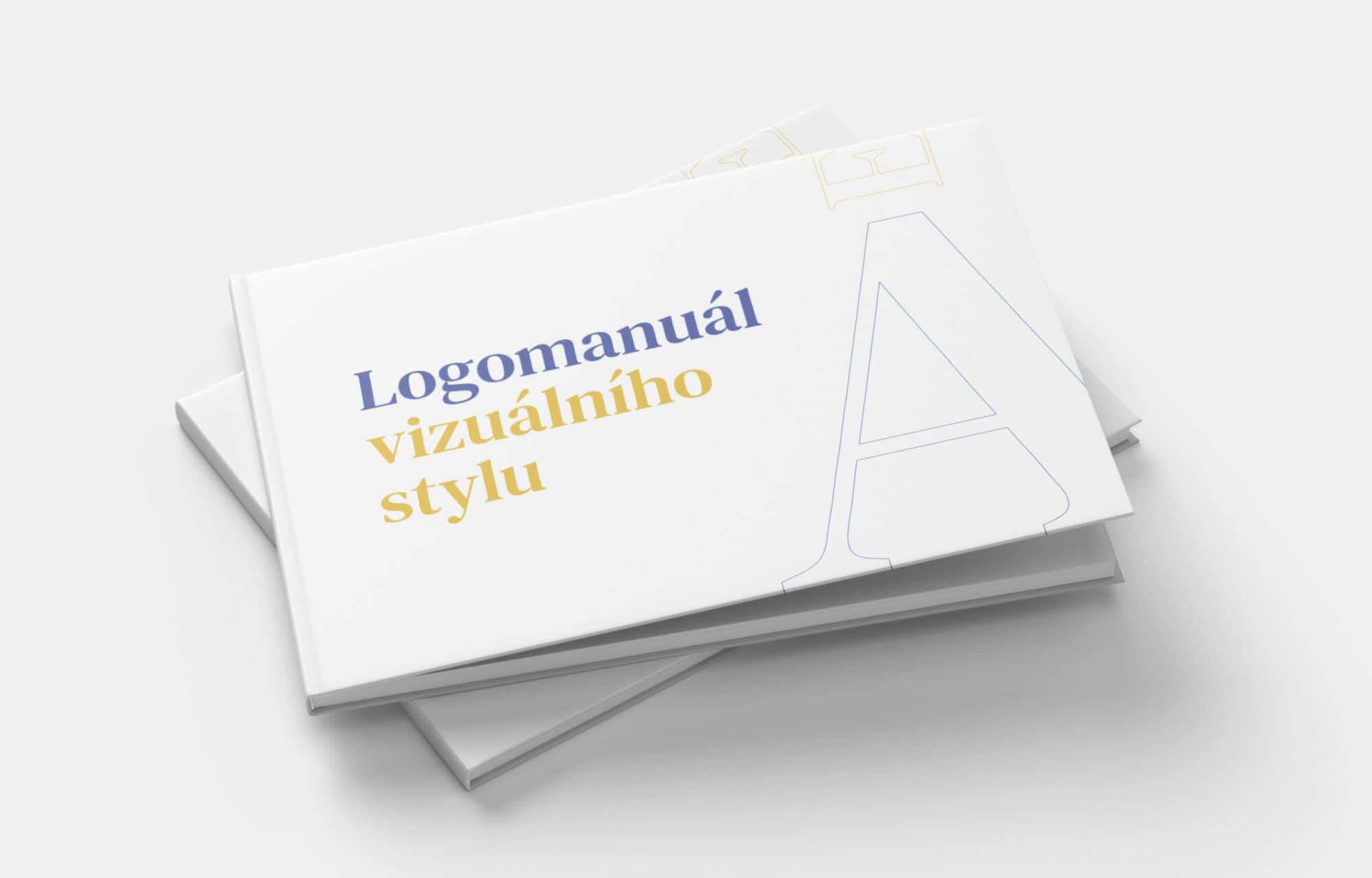 Tvorba loga avizuální identity Adel events logomanuál