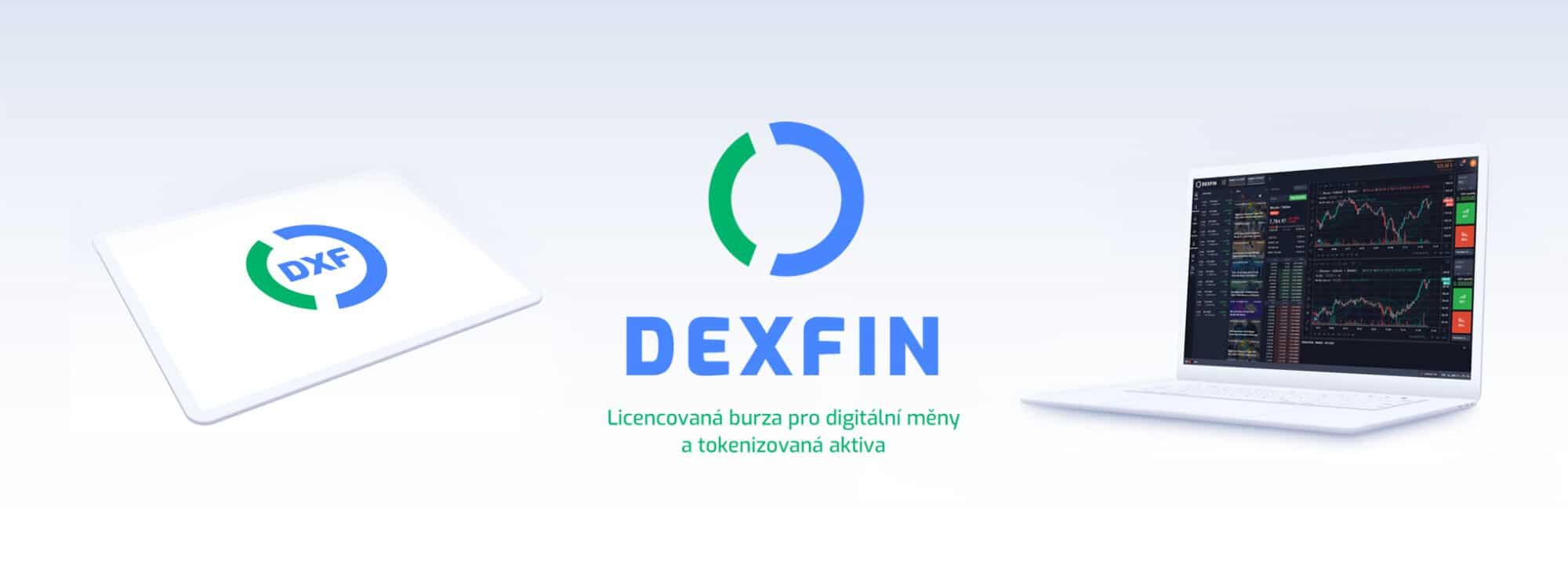 Tvorba loga avizuální identity Dexfin sociální sítě