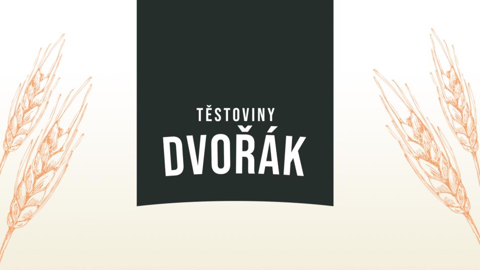 Tvorba loga avizuální identity Těstoviny Dvořák packshot 3