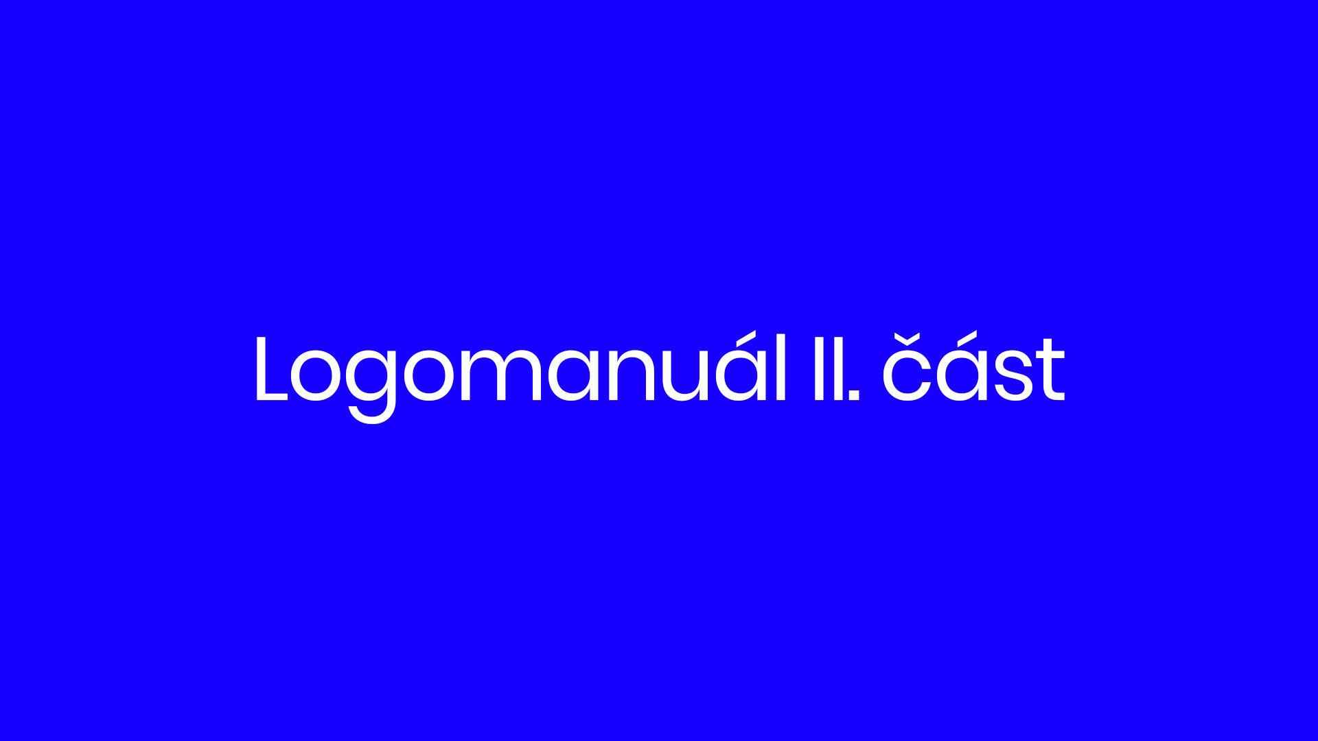 22. díl - logomanuál II. část